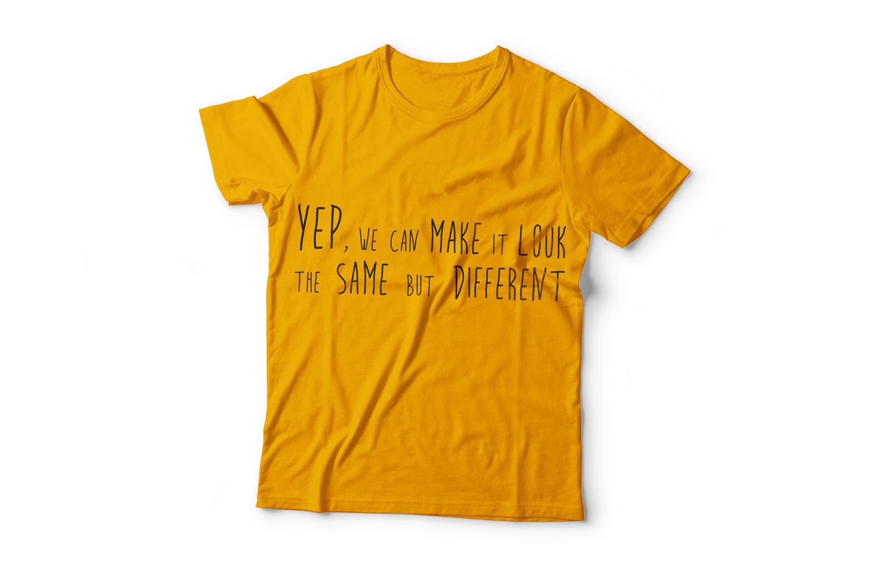 tshirt-yep-same